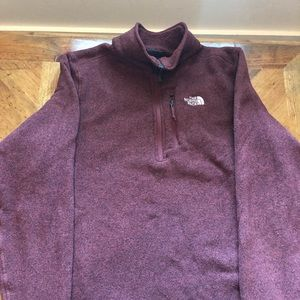 Men's North Face 1/2 Zip